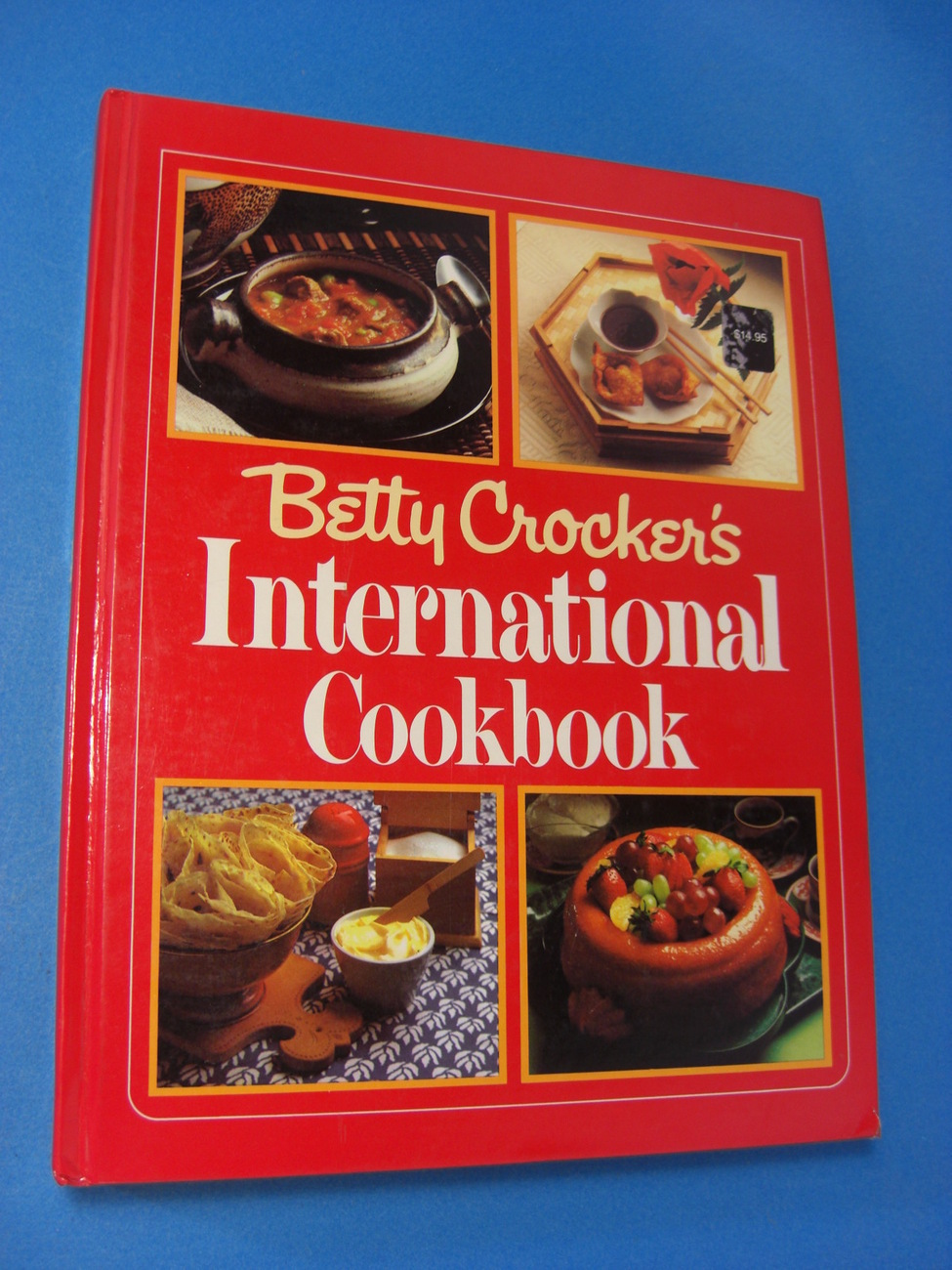 Vintage Betty Crocker's International Cookbook 1980