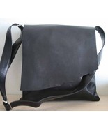 Vintage Looked Unisex MESSENGER BAG DISTRESSED ... - $99.99