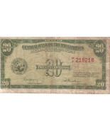 PHILIPPINE Paper Money: CENTRAL BANK PHILS. 194... - $2.95