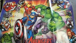 Avengers Heroes Wrapping Wrap Paper Party Gift Decoration - $18.76