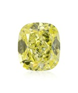 2.01 Carat Fancy Yellow Loose Diamond Natural Color Cushion Cut GIA Cert... - $14,038.20