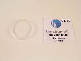 New Watch Crystal For SEIKO 7005 8040 Automatic Plexi-Glass New Spare Part C171E - $19.96