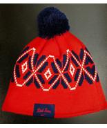 Nike MLB Boston Red Sox Knit Cap Hat Beanie Winter Pom Pom - $14.50