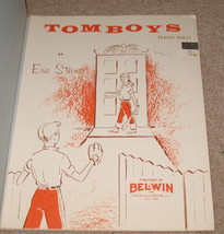 Tomboys sheet Music Piano Solo by Eric Steiner - $9.75