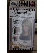 Bumpits, Hair Volumizing Leave-In Inserts, Blonde,  NEW IN PACKAGE - $4.94