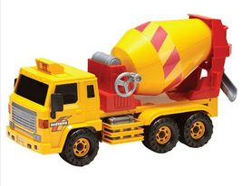 Daesung Toys Super Dump Truck and Concrete Mixer Car Vehicle Heavy Equipment Set image 7