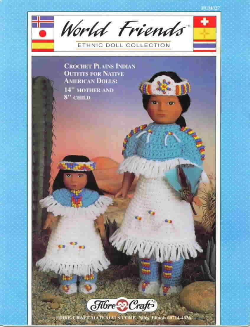 Fibre craft world friends ethnic doll collection