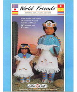 Fibre Craft World Friends Ethnic Doll Collectio... - $6.89