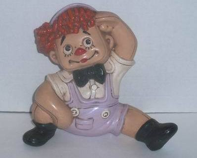Vintage plaster raggedy andy
