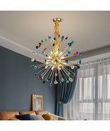 Luxury Home Decor Led Cristal Lamp Dining Room Gold Hanging Lighting Fix... - $599.99+
