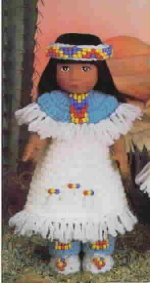 Fibre Craft World Friends Ethnic Doll Collection First Edition