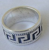 Greek C15  ring - $27.00