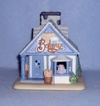 Partylite Village Bakery Cottage Tealight Holder Bisque Porcelain - $7.99