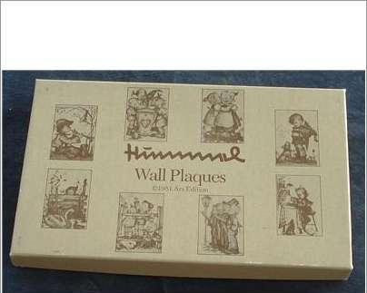 Set of 2 Hummel Wall Plaques, NEW IN BOX 1981 Ars Edit