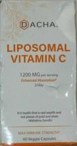 DACHA Nutrition Natural Liposomal Vitamin C 1200 mg Supplement - 60 Caps... - $11.99