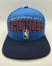 NBA Oklahoma City Thunder Adidas Cap Hat Adult Snapback Acrylic Wool - $12.13