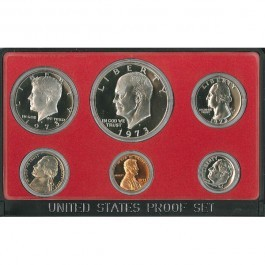 1973 us mint proof set large