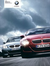 2008 BMW M5 sedan M6 coupe convertible brochure catalog V10 - $12.00