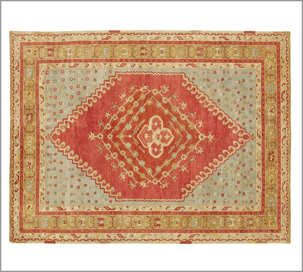 Pottery Barn Persian Rug: New Pottery Barn Handmade Persian BINDU Persian Style Area