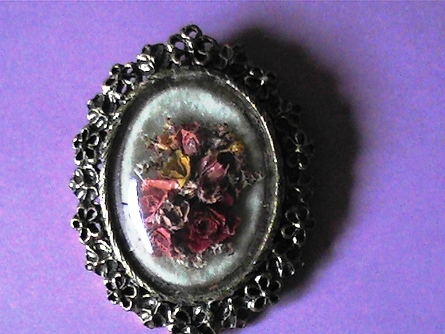 Dried brooch 1