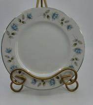 "6 Vintage International Silver Fine China Elegant Lady Japan 7.75"" Salad Plate - $34.99"