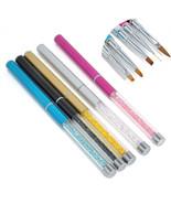 1PCS Acrylic Nail Art Pen Brush Painting Dotting Liner Manicure Tools Se... - $2.10