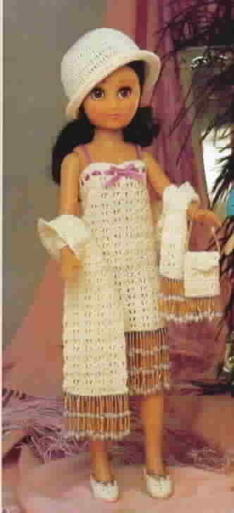 Fibre Craft Flapper Outfit for Crochet First Edition