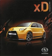 2010 Scion xD parts accessories brochure catalog Toyota TRD - $6.00