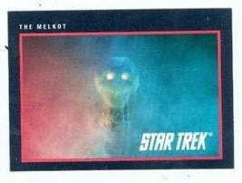 Star Trek card #301 The Melkot - $3.00