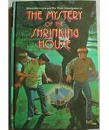 Three Investigators #18 MYSTERY OF THE SHRINKING HOUSE 2nd Print hc Arden - $18.00
