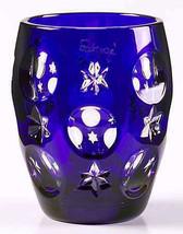 Faberge Na Zdorovya Vodka Crystal Cobalt Blue Edition Single Shot Glass image 2