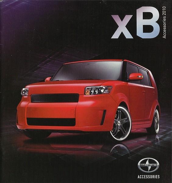 Toyota New Parts Online: 2010 Scion XB Parts Accessories Brochure Catalog Toyota