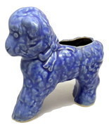 Vintage Cameron Clay Products blue baby lamb planter  - $15.18 CAD