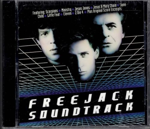 FREEJACK VARIOUS SOUNDTRACK  CD NEW RARE