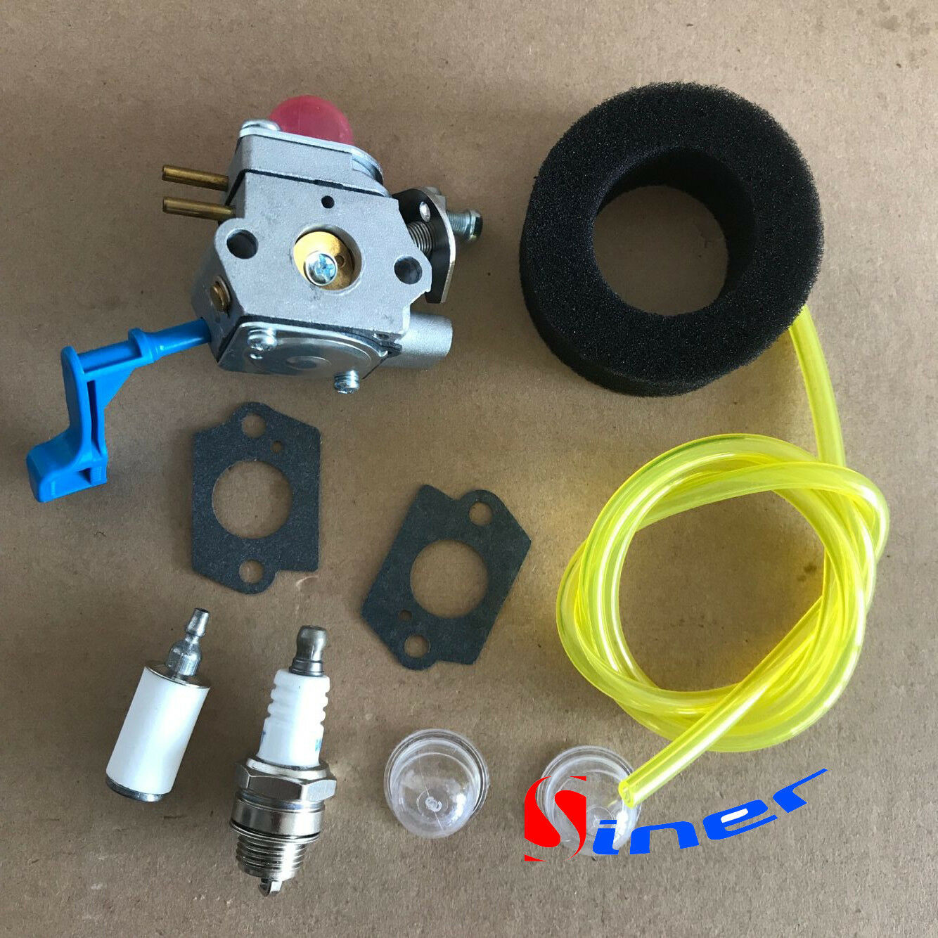 Primary image for Carburetor Kit For Poulan GHT180LE GHT220 GHT225G Hedge Trimmer # Zama C1U-W13B