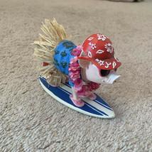 Pig Figurine Collectible Beach Hula Hawaiian Surf Tropical Sunglasses Is... - $28.05