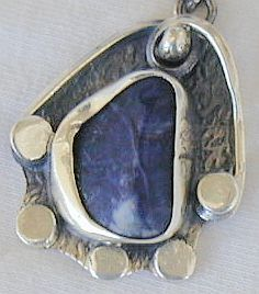 Primary image for Natural lapis pendant LH