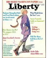 LIBERTY THE NOSTALGIA MAGAZINE NO 03 WINTER 1971 VF RAR - $4.95