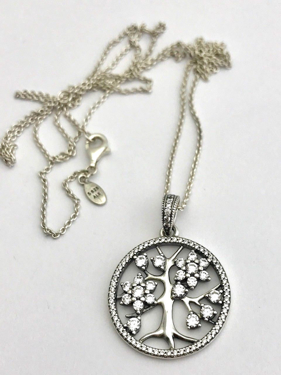 8f47b44008ecfc Authentic Pandora Family Tree Necklace, and 50 similar items. S l1600