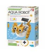 4M Aqua Fish Solar Hybrid Power Robot Kids Science Kit Homeschool Teache... - $19.99