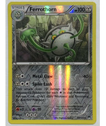 Ferrothorn 80/122 Reverse Holographic Holo Pokemon Card XY Breakpoint Se... - $2.44