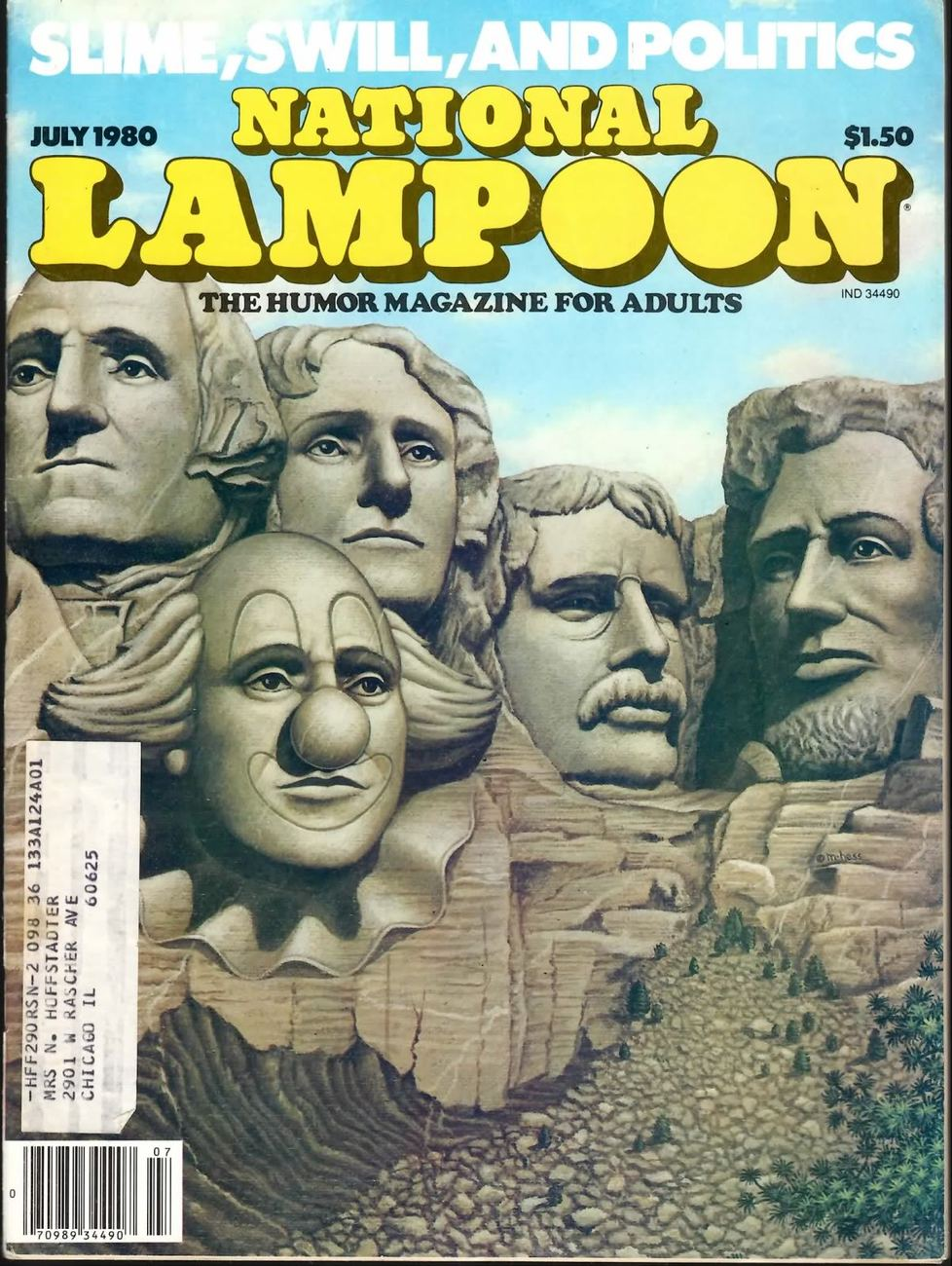 NATIONAL LAMPOON VOL 2 #24 JUL 1980 FINE  RARE