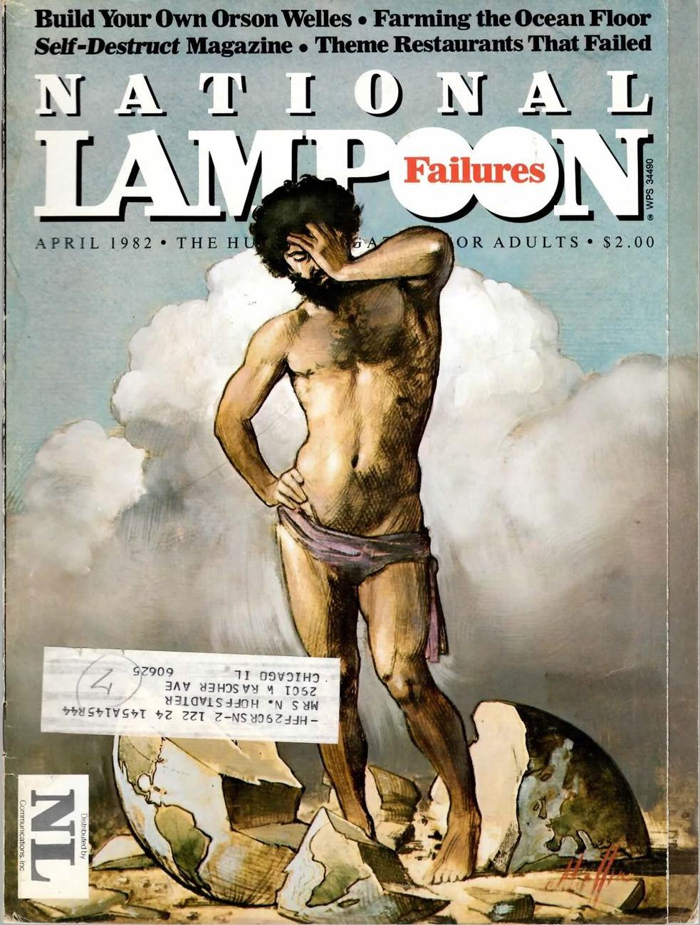 NATIONAL LAMPOON VOL 2 #45 APR 1982 FINE RARE