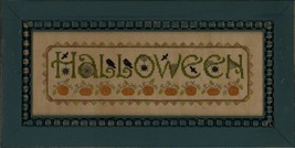 Halloween fall autumn cross stitch chart Elizabeth's Designs - $7.20