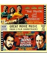 PRIDE & THE PASSION & AGONY & THE ECSTASY SOUNDTRACKS CD  RARE - $34.95