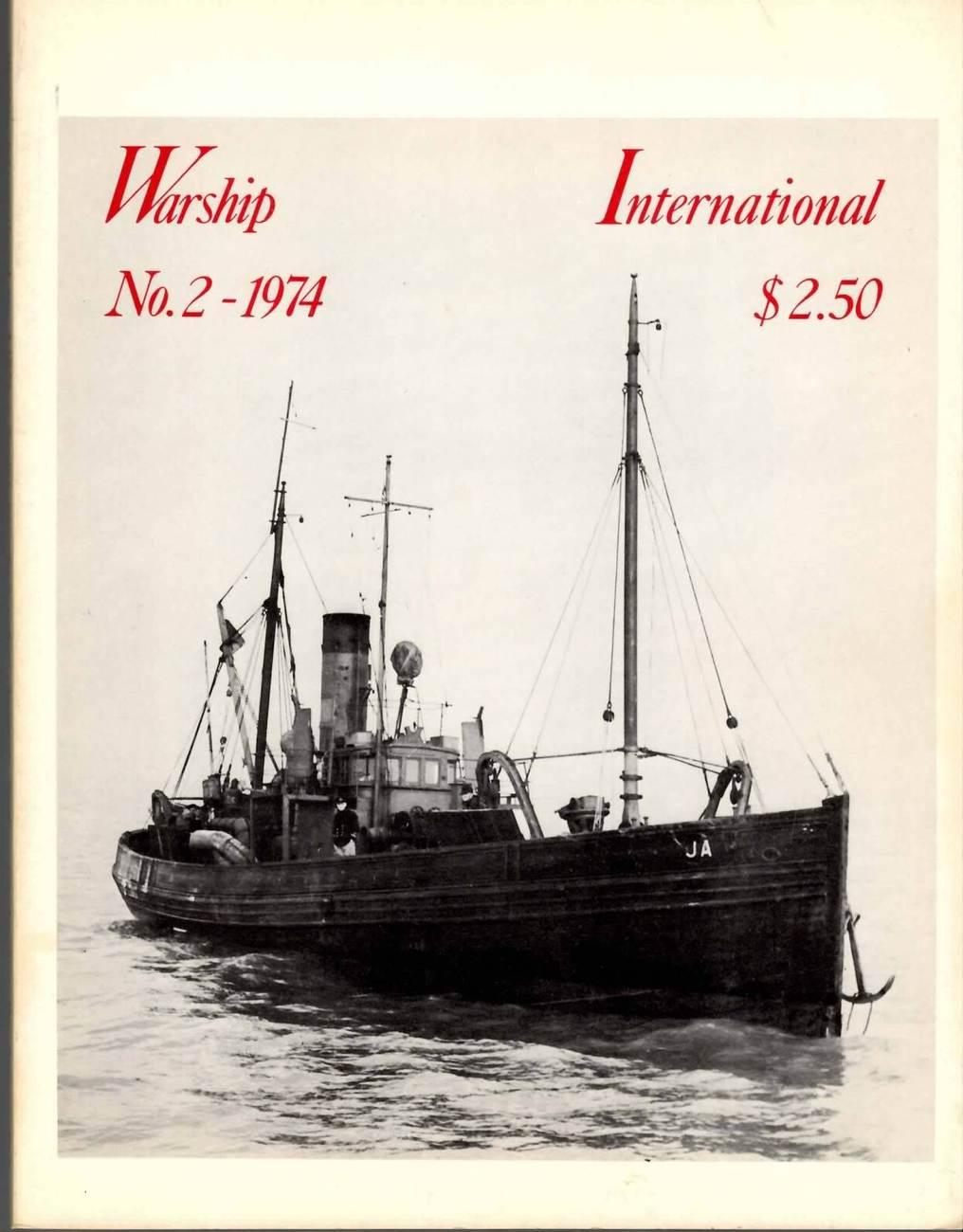 WARSHIP INTERNATIONAL MAGAZINE VOL 11 NO 2 1974 VF RARE