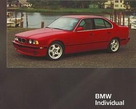 1996 BMW 540i SPORT EXCLUSIVE EDITION brochure catalog US 96 - $12.00