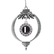 Inspired Silver My Vintage Initials - Letter L Circle Holiday Decoration Christm - $14.69