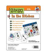 In The Kitchen ESL Bingo Game Kit  - $11.99