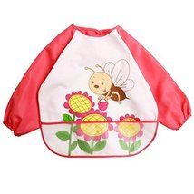 Baby Boy Girls Painting/Eating Waterproof Bibs Children's Aprons/Smock-A486 - $14.77